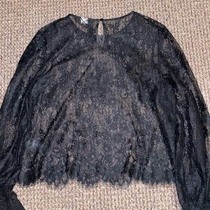 Urban Outfitters Sheer Lace Top